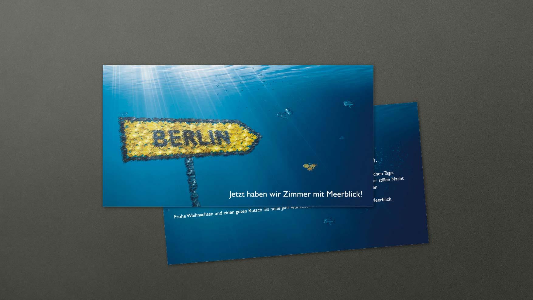 Radisson Berlin Eröffnung Mailing