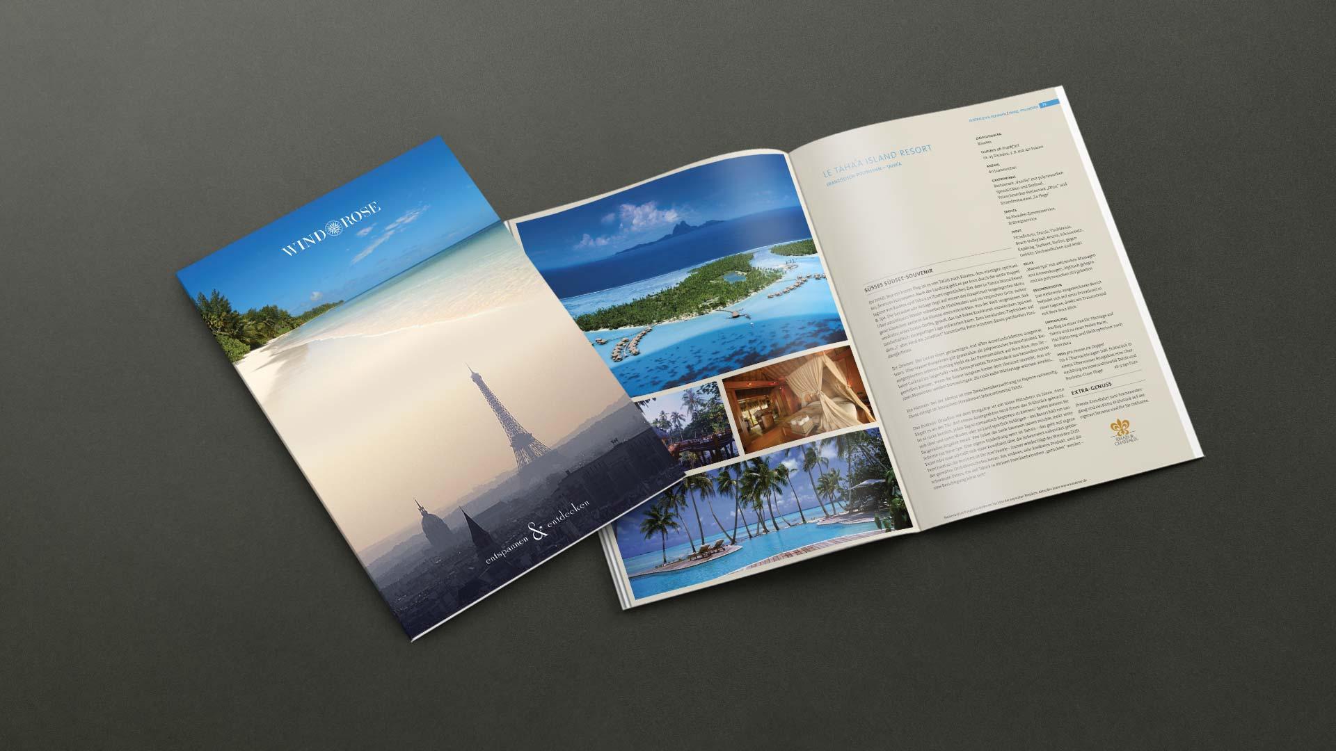 Gesamtkatalog für den Reiseanbieter Windrose Finest Travel